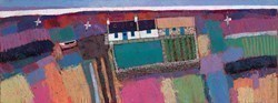 Tattie Patch by David Body -  sized 31x12 inches. Available from Whitewall Galleries